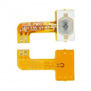 Шлейф Huawei Ascend Y220 кнопка включения, High Copy
