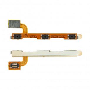 Шлейф Huawei Ascend P7 (P7-L10, Sophia-L10) кнопка включения, регулировки громкости, High Copy