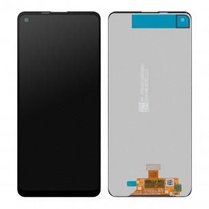 Дисплей Samsung A217 Galaxy A21s, с тачскрином, Original PRC, Black