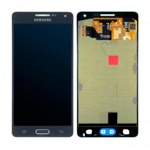 Дисплей Samsung A500 Galaxy A5, с тачскрином, OLED, Black