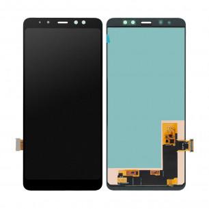 Дисплей Samsung A730 Galaxy A8 Plus 2018, с тачскрином, OLED, Black