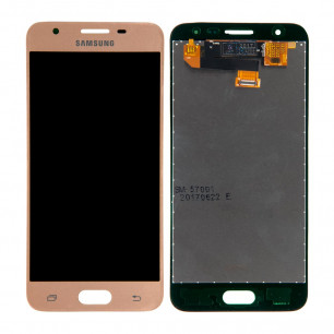 Дисплей Samsung G570 Galaxy J5 Prime, с тачскрином, Original PRC, Gold