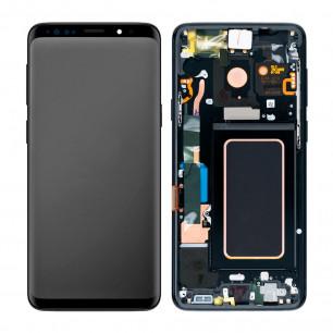 Дисплей Samsung G965 Galaxy S9 Plus, с тачскрином, рамкой, Original PRC, Black