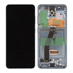 Дисплей Samsung G980 Galaxy S20, с тачскрином, рамкой, Original, Black