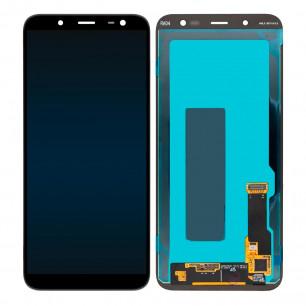 Дисплей Samsung J600 Galaxy J6 2018, с тачскрином, OLED, Black