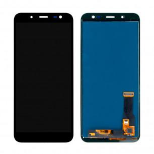 Дисплей Samsung J600 Galaxy J6 2018, с тачскрином, TFT (с регулируемой подсветкой), Black