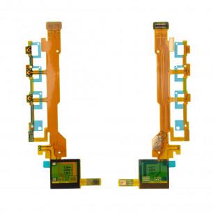 Шлейф Sony C6602 Xperia Z | C6603 Xperia Z кнопка включения, регулировки громкости, с микрофоном, Original PRC