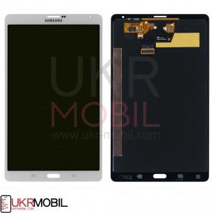 Дисплей Samsung T705 Galaxy Tab S 8.4 LTE, с тачскрином, White, Original