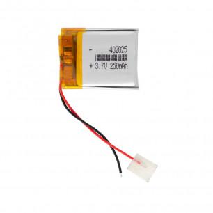 Аккумулятор 4.0*20*25 мм, (250 mAh)