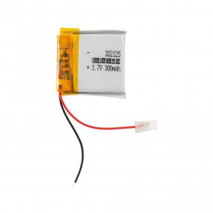 Аккумулятор 3.0*23*25 мм, (300 mAh)