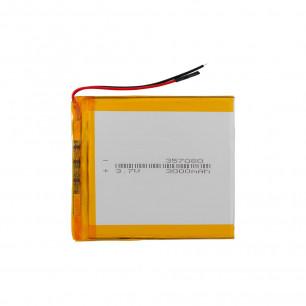 Аккумулятор для планшета 3.5*70*80 мм, (3000 mAh)