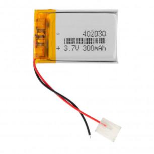 Аккумулятор 4.0*20*30 мм, (300 mAh)