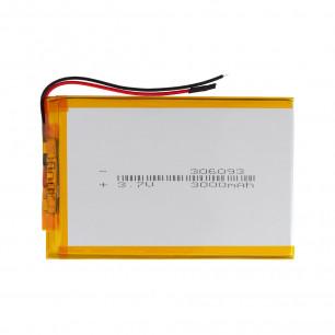 Аккумулятор для планшета 3.0*60*93 мм, (3000 mAh)