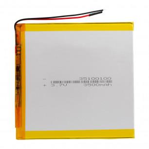 Аккумулятор для планшета 3.5*100*100 мм, (3500 mAh)