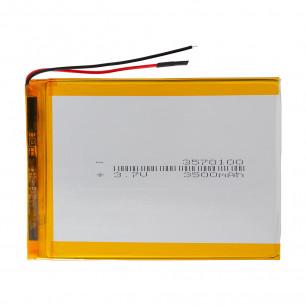 Аккумулятор для планшета 3.5*70*100 мм, (3500 mAh)