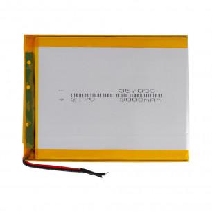 Аккумулятор для планшета 3.5*70*90 мм, (3000 mAh)