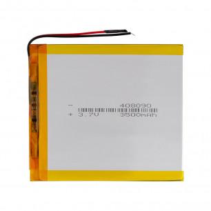 Аккумулятор для планшета 4.0*80*90 мм, (3500 mAh)