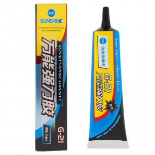 Клей Sunshine G21, для приклеивания сенсоров и дисплеев, Black, 50 ml