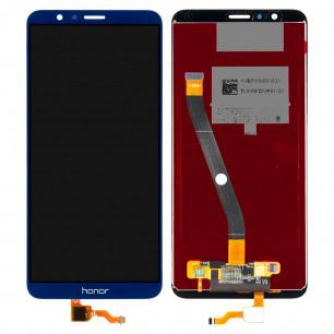 Дисплей Huawei Honor 7X (BND-L21, L22, AL10, L31) с тачскрином, Blue