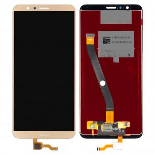 Дисплей Huawei Honor 7X (BND-L21, L22, AL10, L31) с тачскрином, Gold