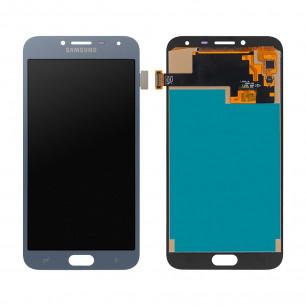 Дисплей Samsung J400 Galaxy J4 2018, с тачскрином, INCELL, Blue