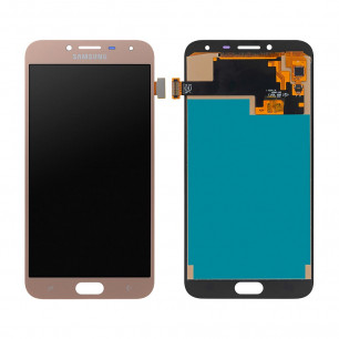 Дисплей Samsung J400 Galaxy J4 2018, с тачскрином, INCELL, Gold