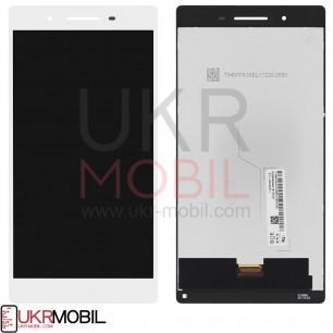 Дисплей Lenovo Tab 4 TB-7504X LTE, с тачскрином, Original PRC, White