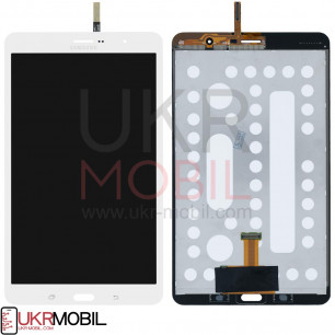 Дисплей Samsung T321 Galaxy Tab Pro 8.4 3G, T325 Galaxy Tab Pro 8.4 LTE, с тачскрином, Original PRC, White