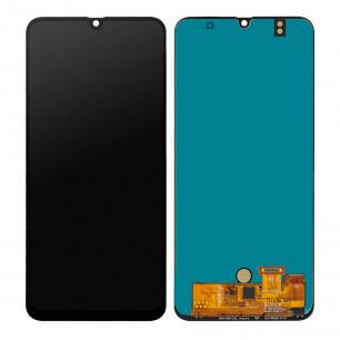 Дисплей Samsung A505 Galaxy A50 2019, с тачскрином, OLED, Black