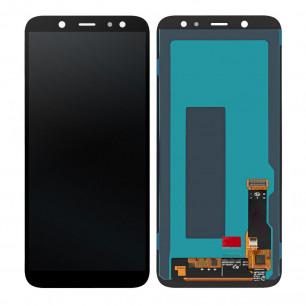 Дисплей Samsung A600 Galaxy A6, с тачскрином, OLED, Black