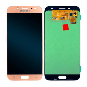 Дисплей Samsung J730 Galaxy J7 2017, с тачскрином, OLED, Gold