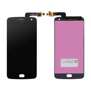 Дисплей Motorola XT1684, XT1685, XT1687 Moto G5 Plus, с тачскрином, Original PRC, Black