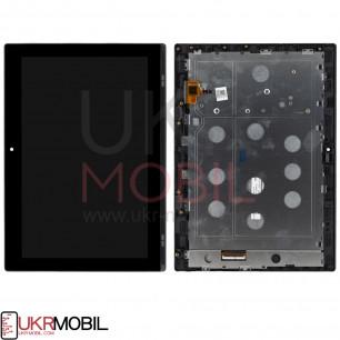 Дисплей Lenovo IdeaPad Miix 320 10.1, с тачскрином, рамкой, Black