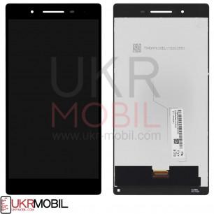Дисплей Lenovo Tab 4 TB-7504X LTE, с тачскрином, Original PRC, Black