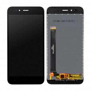 Дисплей Xiaomi Mi A1, Mi5x, с тачскрином, High Copy, Black