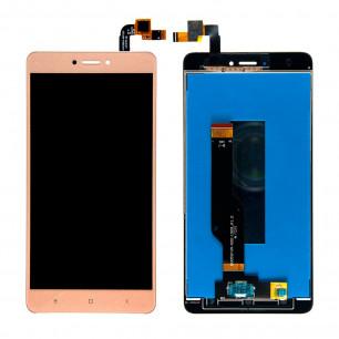 Дисплей Xiaomi Redmi Note 4x, с тачскрином, High Copy, Gold
