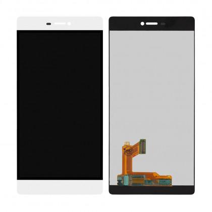 Дисплей Huawei Ascend P8 (GRA-L09), с тачскрином, White - ukr-mobil.com