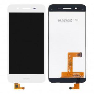 Дисплей Huawei GR3 2015, P8 Lite Smart (TAG-L01), Enjoy 5s, с тачскрином, Original PRC, White
