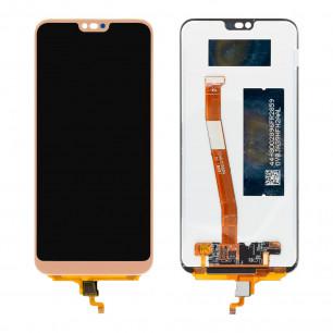 Дисплей Huawei Honor 10 (COL-AL10, COL-L29, COL-L19), с тачскрином, Gold