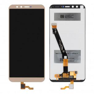 Дисплей Huawei Honor 9 Lite  (LLD-L31, L11, TL10, AL10, AL00), Honor 9 Youth, с тачскрином, High Copy, Gold
