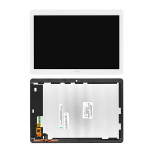 Дисплей Huawei MediaPad T3 10 LTE (AGS-L09), с тачскрином, Original PRC, White