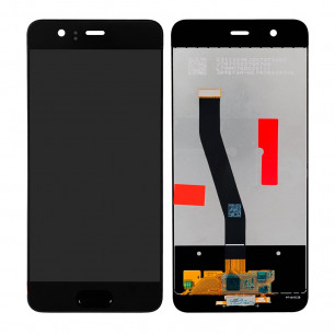 Дисплей Huawei P10 (VTR-L09, VTR-L29), с тачскрином, Original PRC, Black
