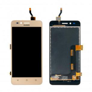 Дисплей Huawei Y3 II 3G (LUA-U03, U22, U23, L03, L13, L23), с тачскрином, Gold