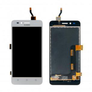 Дисплей Huawei Y3 II 3G (LUA-U03, U22, U23, L03, L13, L23), с тачскрином, White