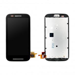 Дисплей Motorola XT1021 Moto E, XT1022 Moto E, XT1025 Moto E, с тачскрином, Black