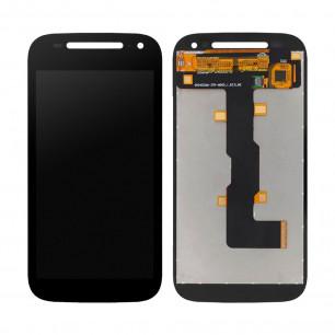 Дисплей Motorola XT1505 Moto E2, XT1511 Moto E2, XT1526 Moto E2, XT1527 Moto E2, XT1528 Moto E2, с тачскрином, Black