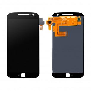 Дисплей Motorola XT1641 Moto G4 Plus, XT1642 Moto G4 Plus, XT1644 Moto G4 Plus с тачскрином, Black