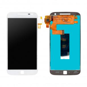Дисплей Motorola XT1641 Moto G4 Plus, XT1642 Moto G4 Plus, XT1644 Moto G4 Plus с тачскрином, White