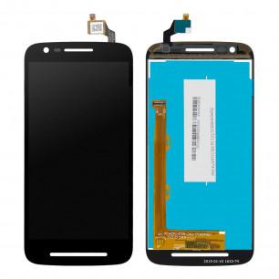 Дисплей Motorola XT1700 Moto E3, с тачскрином, Black