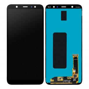 Дисплей Samsung A605 Galaxy A6 Plus 2018, с тачскрином, OLED, Black